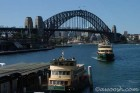 Sydney Harbour Bridge & Ferries at Circular Quay