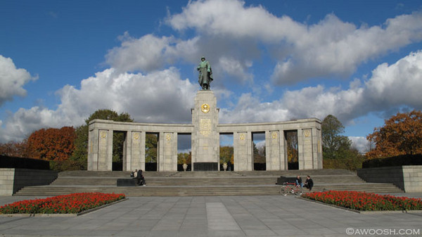 World War II Memorial in Berlin.