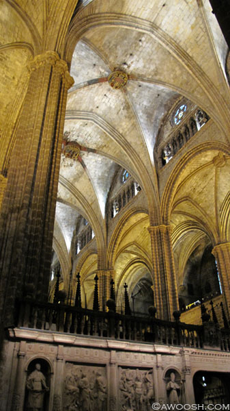 Interior Barcelona Cathedral