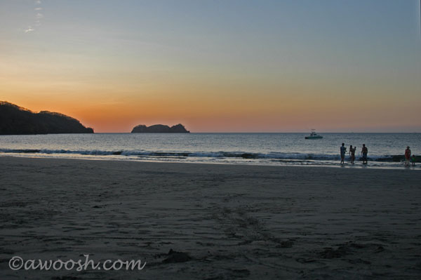 Sunset at Playa Hermosa
