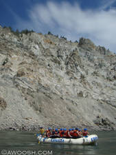 Highlight for Album: Kumsheen River Rafting - Summer 2008