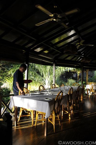 Lembeh Resort Dining Deck