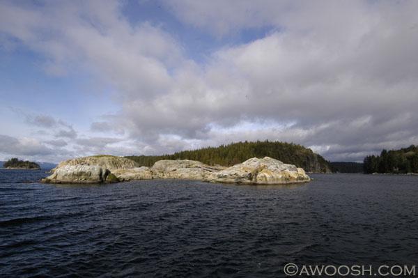 Islet near Cortez Island