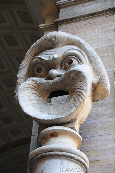 Some ancient sculpture at the Vatican