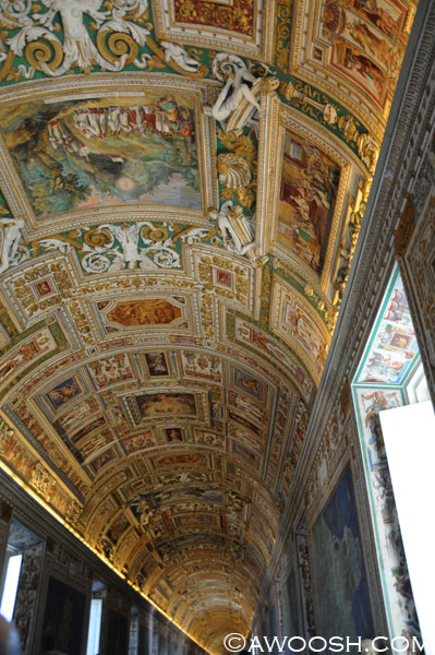 Map Gallery, Vatican Museum